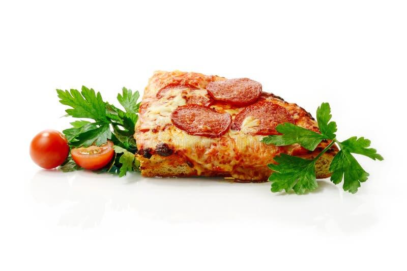 Pizzatijd stock afbeeldingen
