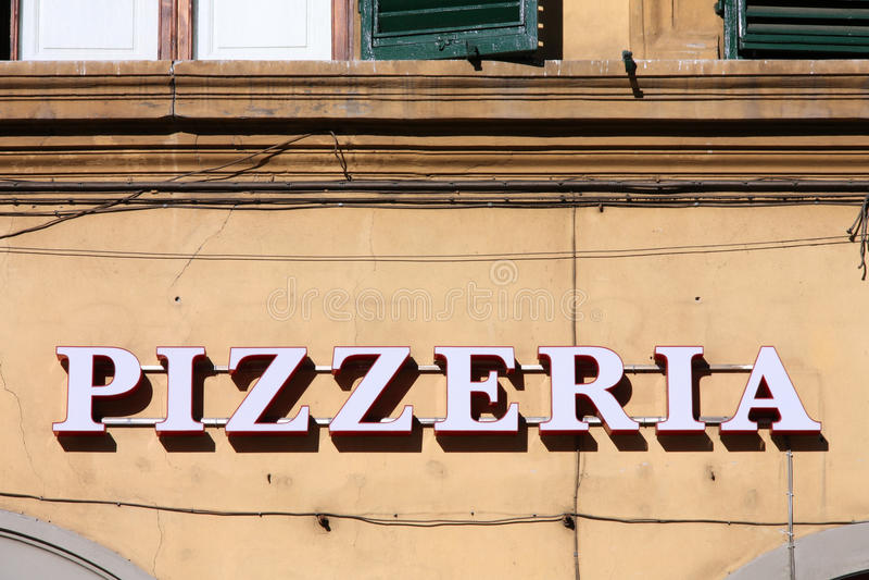 Pizzeria immagini stock libere da diritti