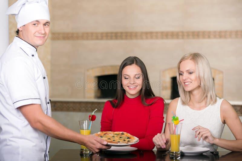 pizzeria fotografie stock