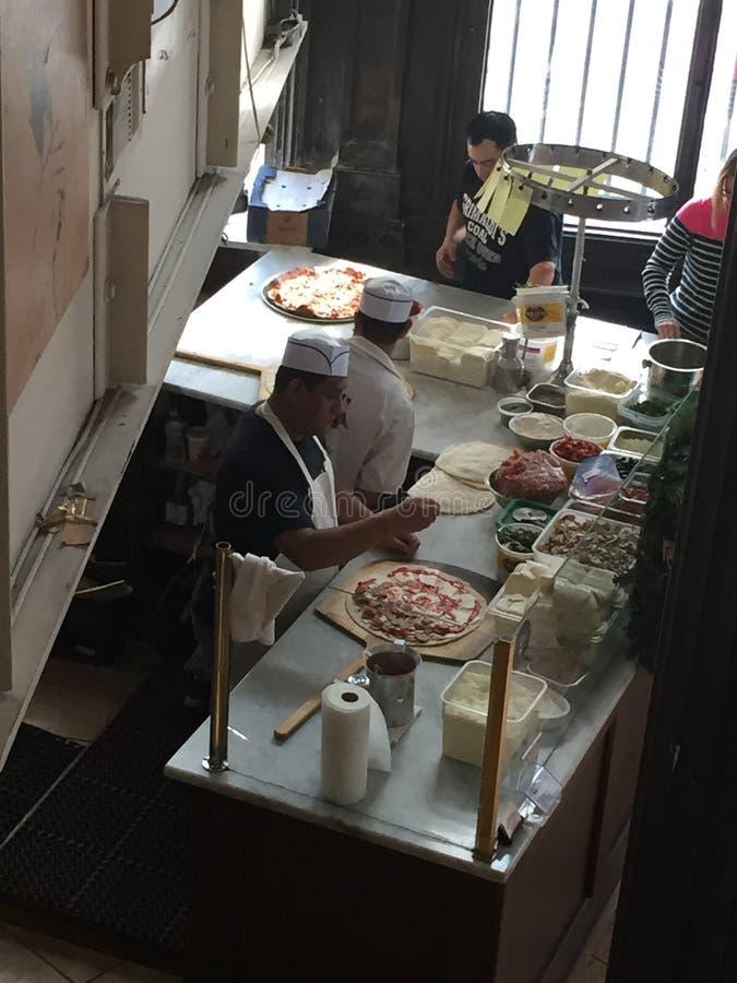 pizzeria fotografia stock