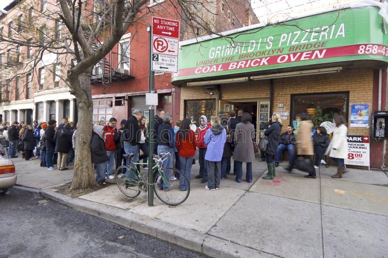 Pizzeria del Grimaldi immagine stock libera da diritti