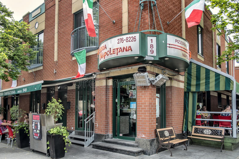 Pizzeria Napoletana obraz royalty free