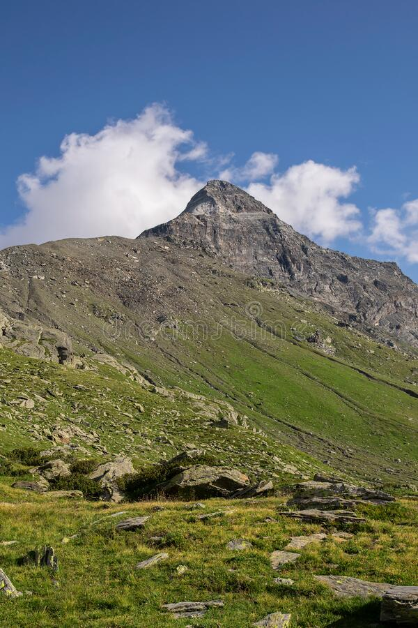 Free Pizzo Scalino, A High Mountain In The Italian Alps. Stock Photography - 171710652