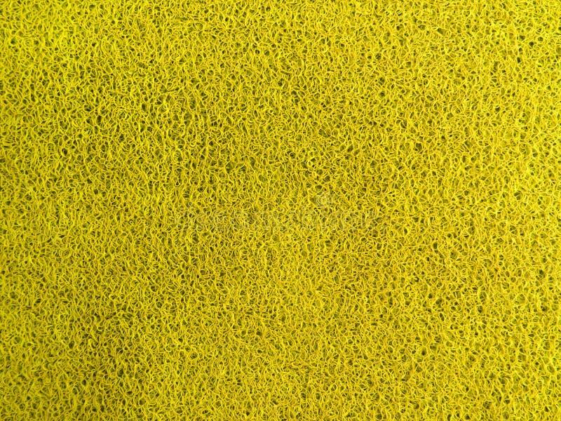 Plástico amarelo da cor imagem de stock