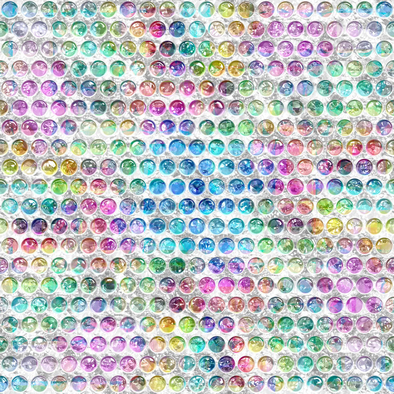 Plástico colorido do borrão ilustração stock