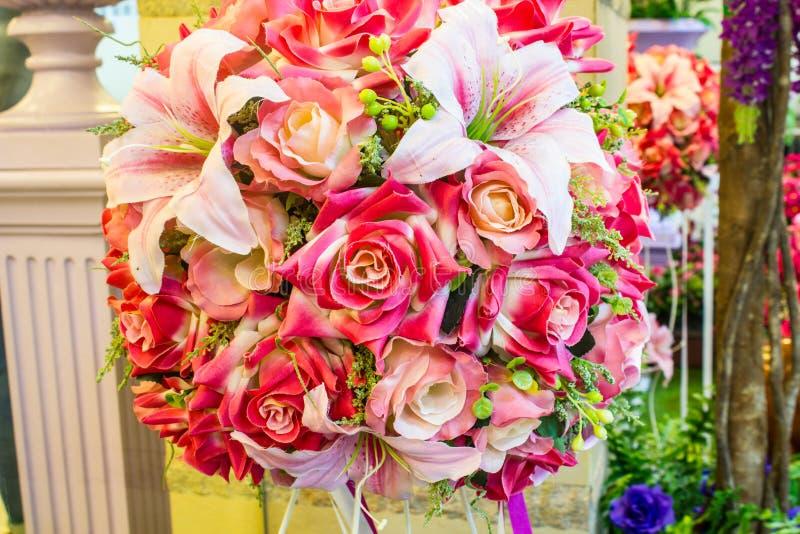 Plástico cor-de-rosa bonito fotos de stock royalty free