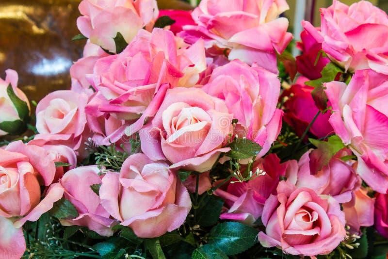 Plástico cor-de-rosa bonito foto de stock royalty free