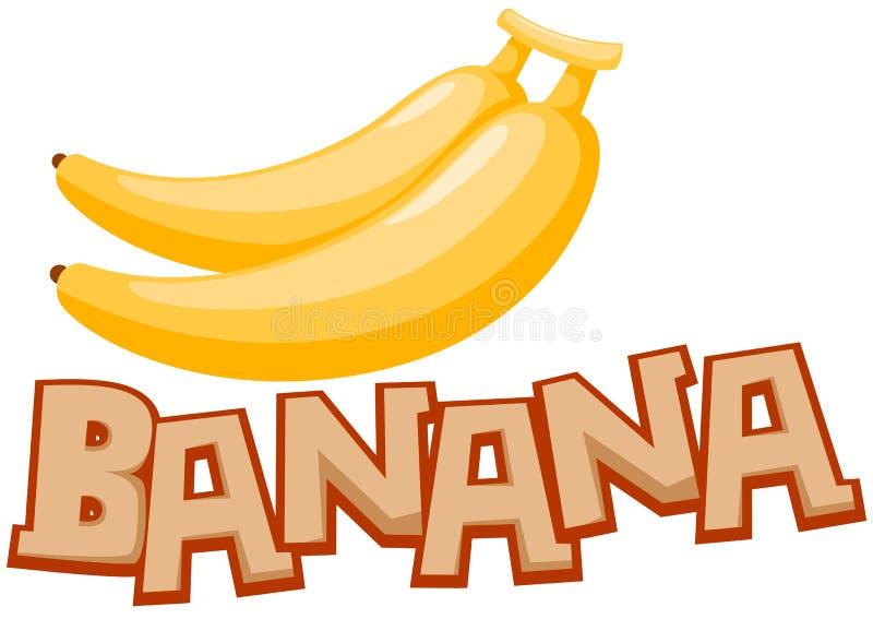 Plátano stock de ilustración