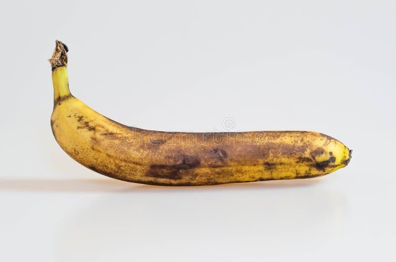 Plátano demasiado maduro putrefacto fotos de archivo libres de regalías
