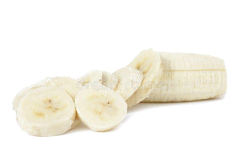 Plátano rebanado fotos de archivo libres de regalías