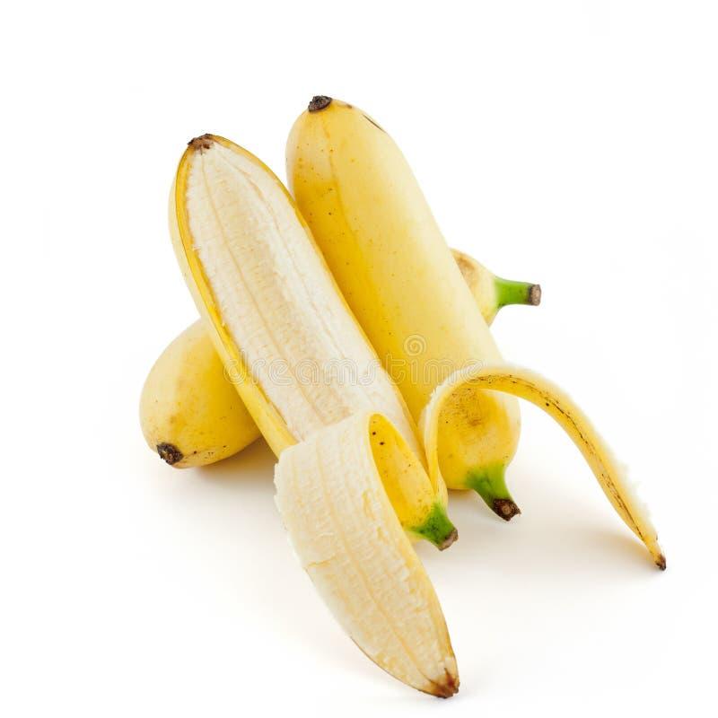 Plátano rechoncho dulce imagen de archivo libre de regalías
