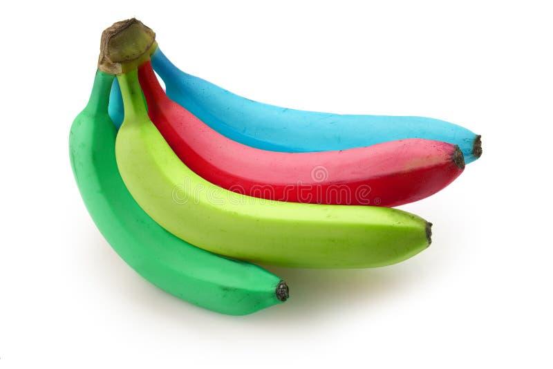 Plátanos cobardes fotos de archivo