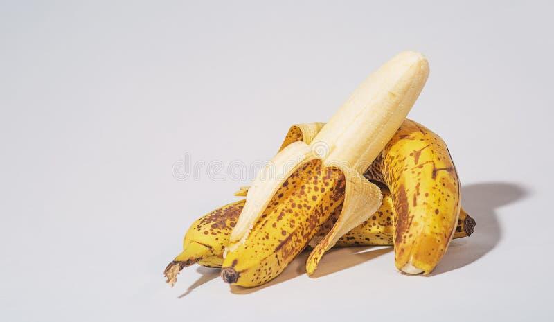 Plátanos dulces fotos de archivo