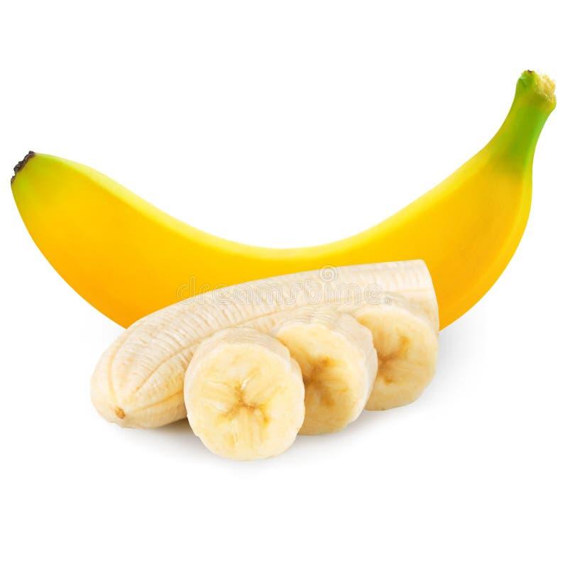 Download Plátanos uno foto de archivo. Imagen de blanco, aislado - 44850674