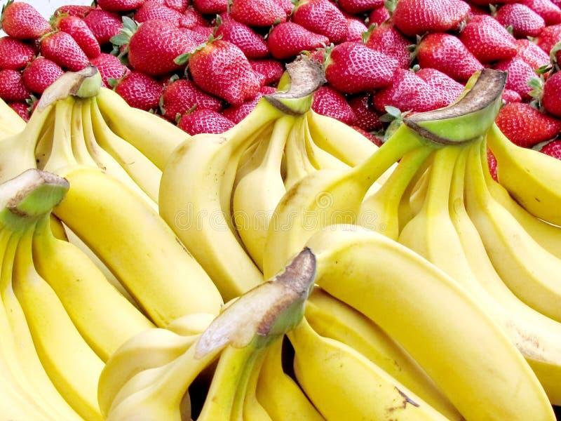 Plátanos y fresa 2013 de Tel Aviv imagen de archivo