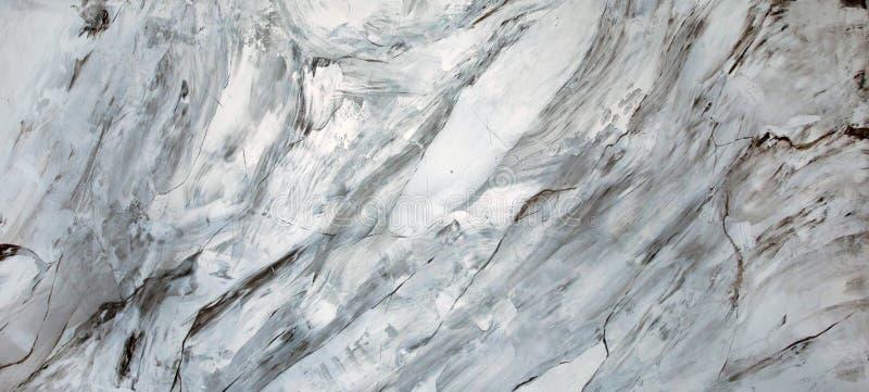 Plâtre décoratif vénitien Un fragment du marbre image stock