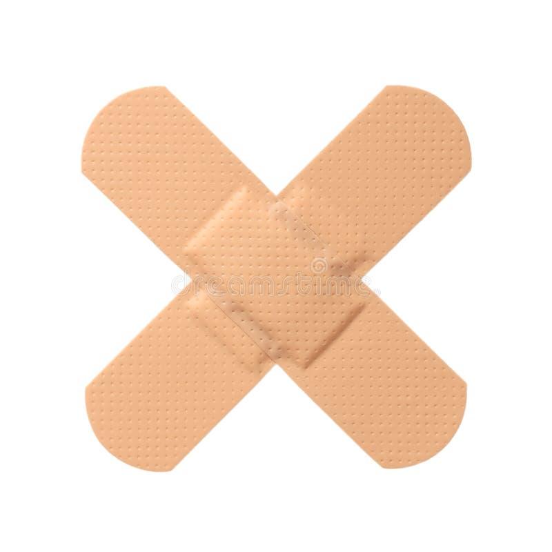 Plâtre de premiers soins photos stock