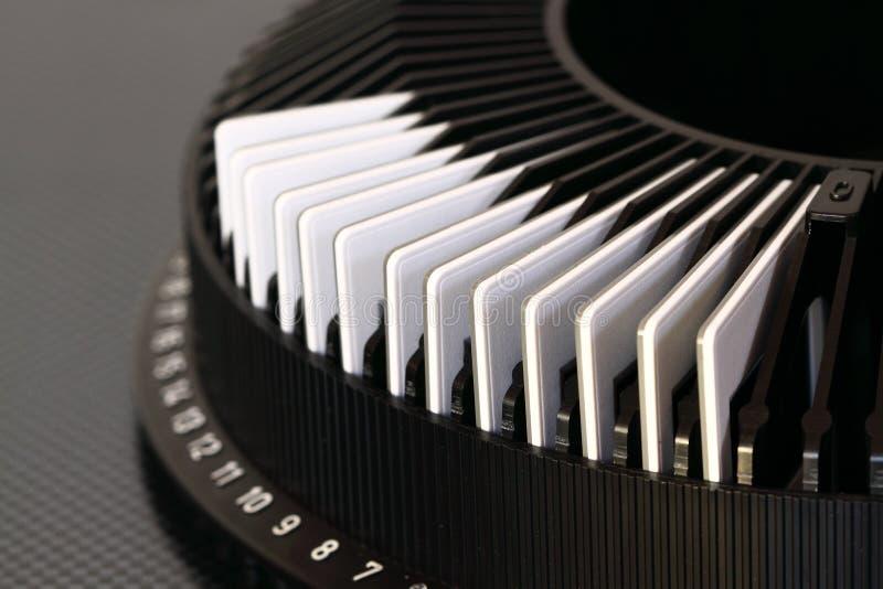 Plättchen in Karussell A lizenzfreie stockfotografie