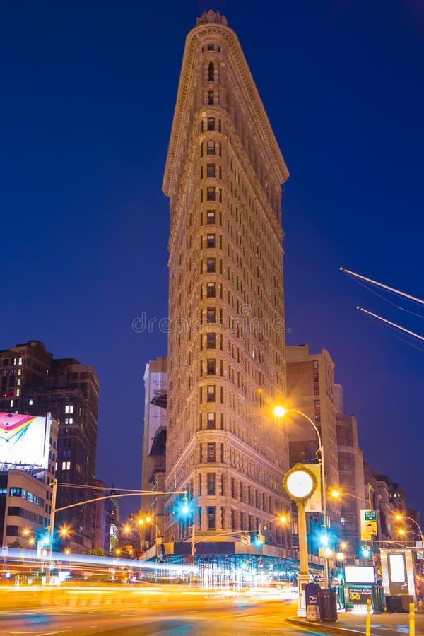 Plätteisen, das NYC errichtet lizenzfreie stockfotos