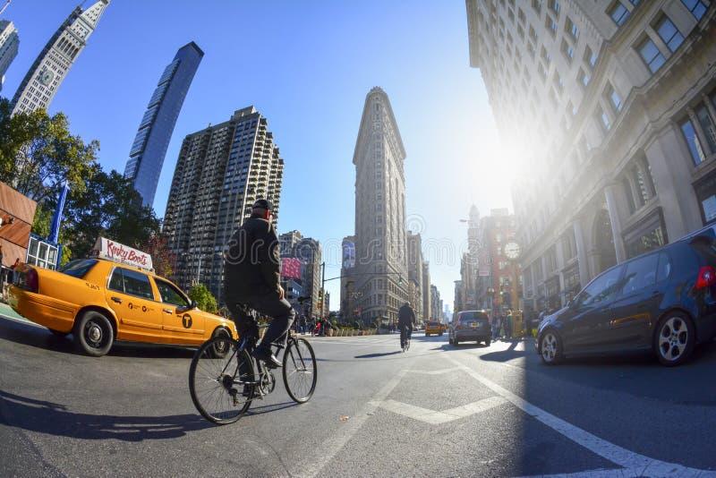 Plätteisen-Gebäude - New York, New York USA lizenzfreies stockfoto