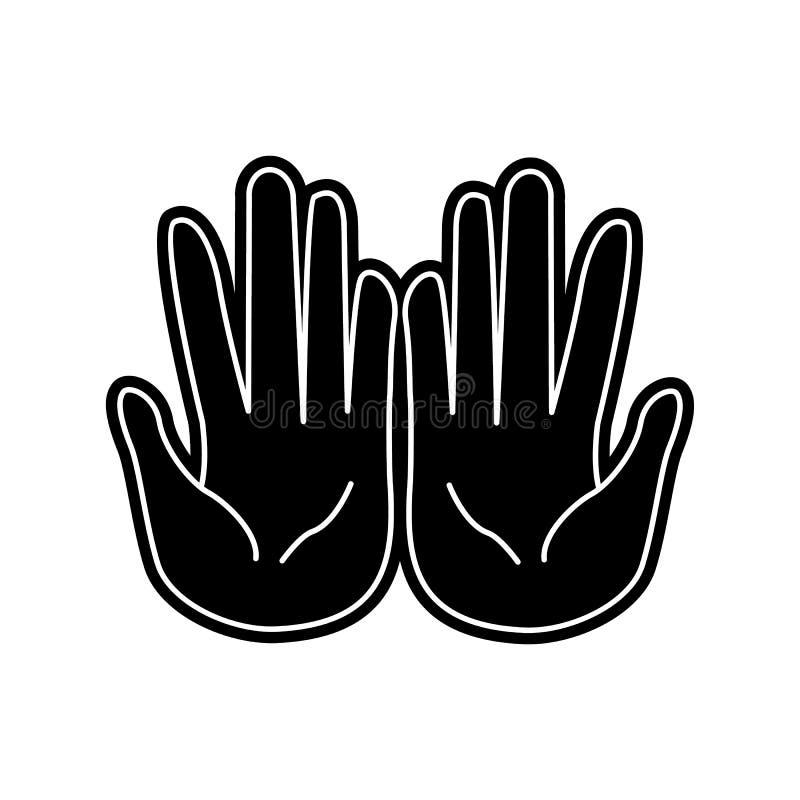 Pl?dieren der Handikone Element von arabischem f?r bewegliches Konzept und Netz Appsikone Glyph, flache Ikone f?r Websiteentwurf  stock abbildung