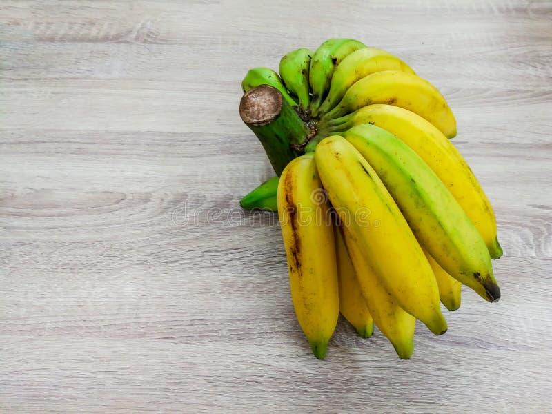 Pl?tano, fruta, madura, comida, tajada fotos de archivo