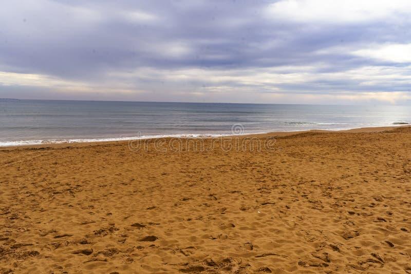 Plaża Marina Alicante Hiszpania europejczycy obrazy royalty free