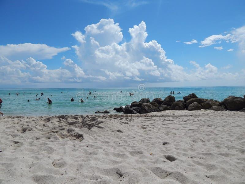 plażowy Florida Miami usa zdjęcia royalty free