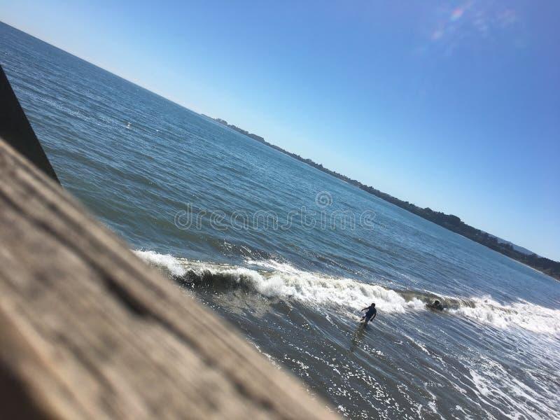 Plaż fala zdjęcie royalty free