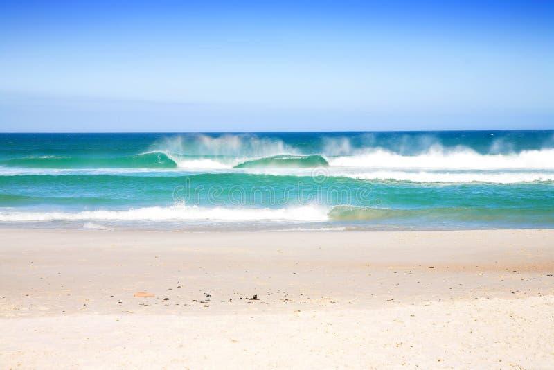 plaż fale obrazy stock