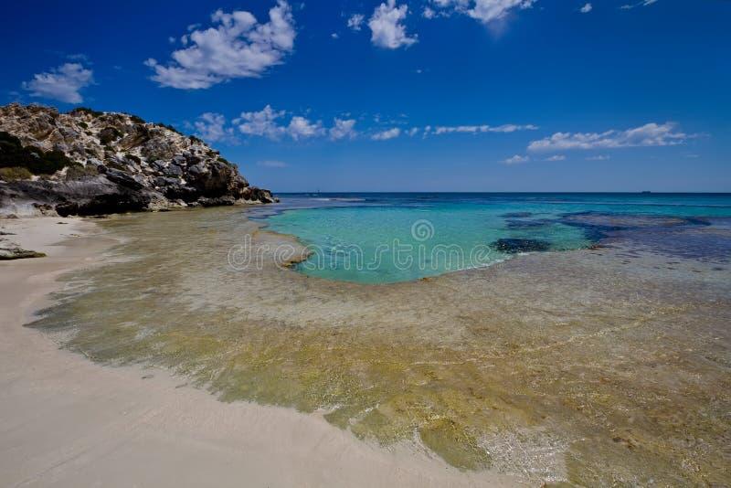 plaż wody opustoszałe turkusowe obrazy royalty free