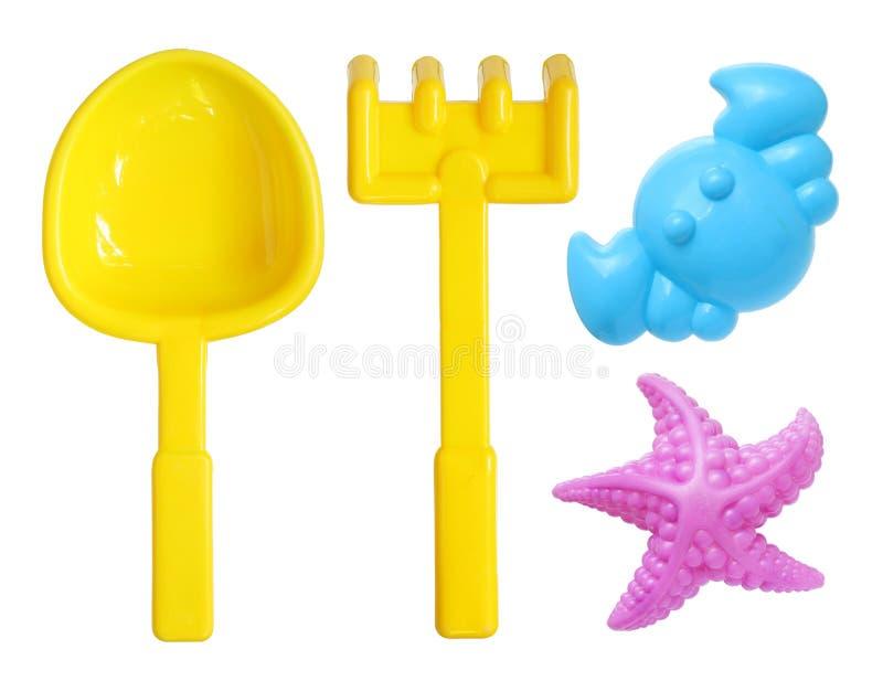 Plaż zabawki obrazy royalty free