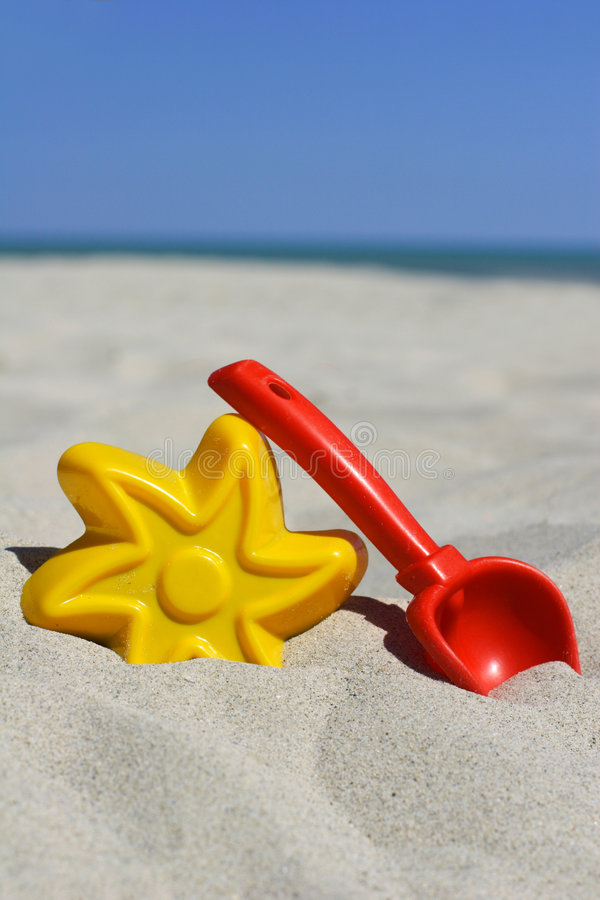 plaż zabawki. fotografia royalty free