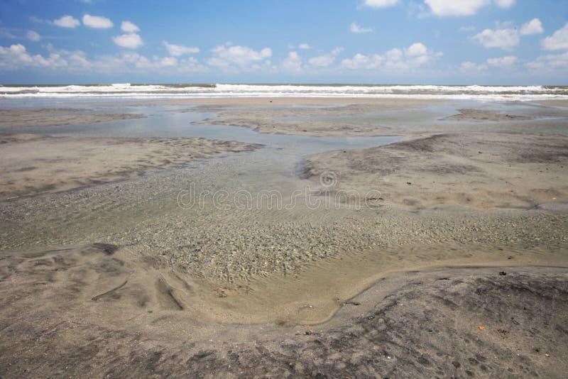 Plaża baseny obraz stock