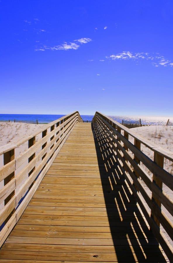 plaża chodzić fotografia stock