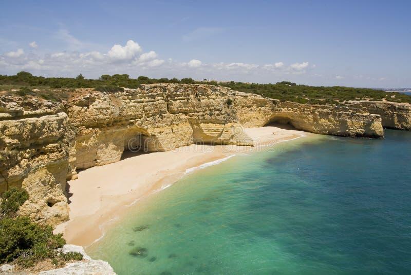 plaża chujący raj zdjęcia royalty free