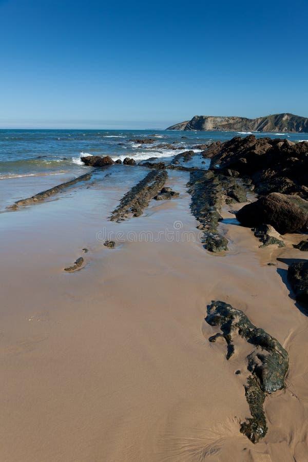 Plaża Comillas obraz stock