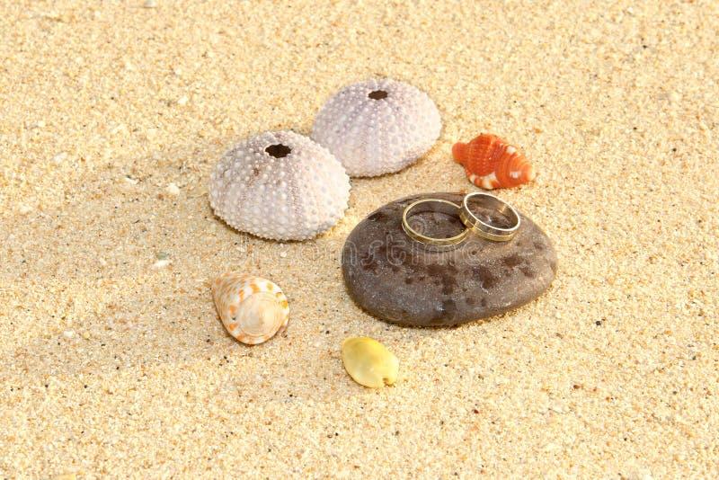 plaża dzwoni dwa target781_1_ obrazy stock