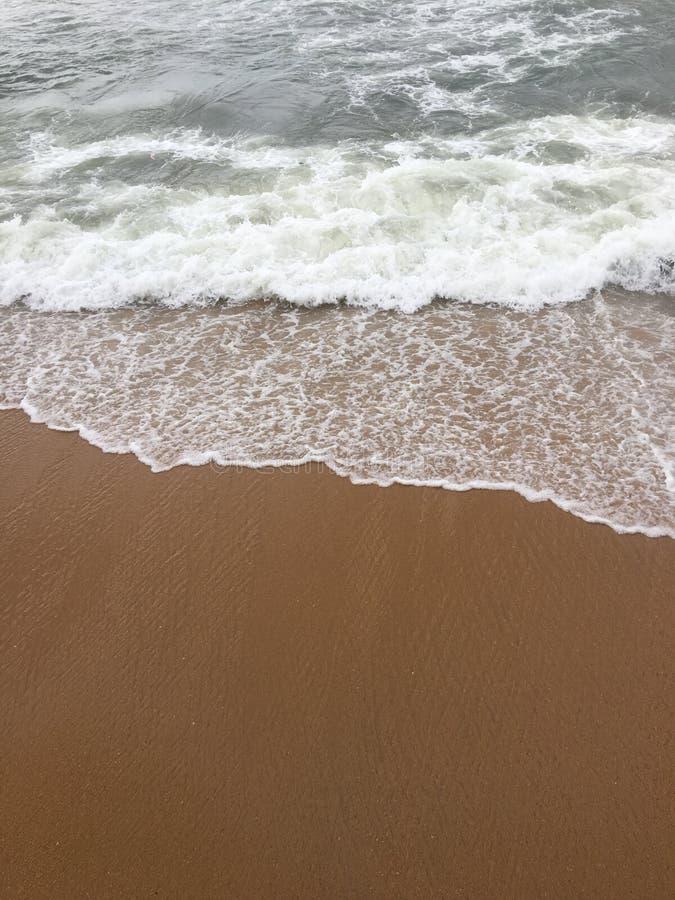 Plaża galleface sri lanka zdjęcie royalty free