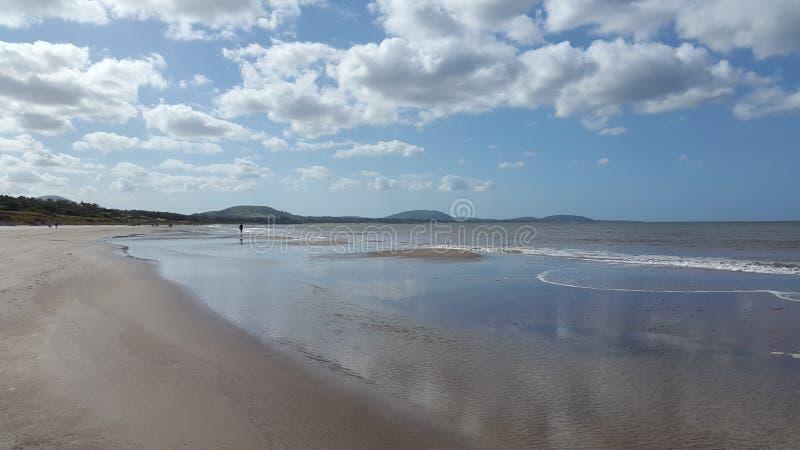 Plaża i spokój, Montevideo, Urugwaj obrazy stock