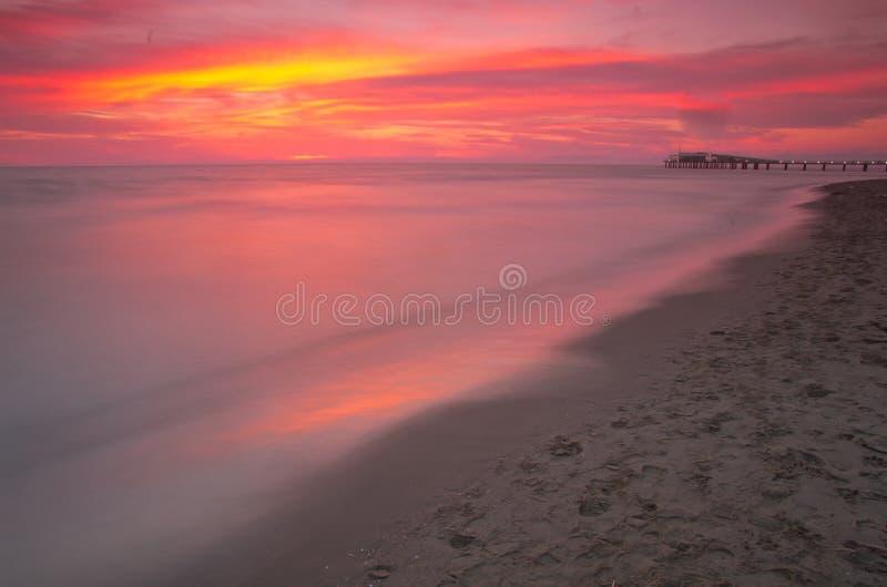 Plaża, Italy zdjęcie stock