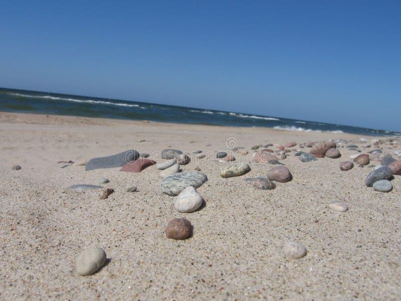 plaża kamienie zdjęcie stock