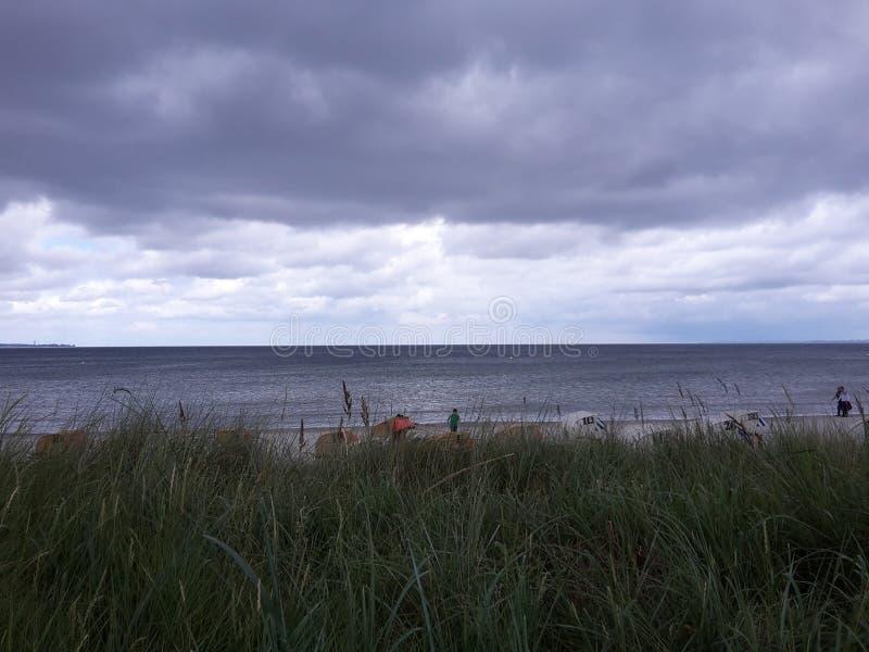 Plaża, lato 2016 obraz stock