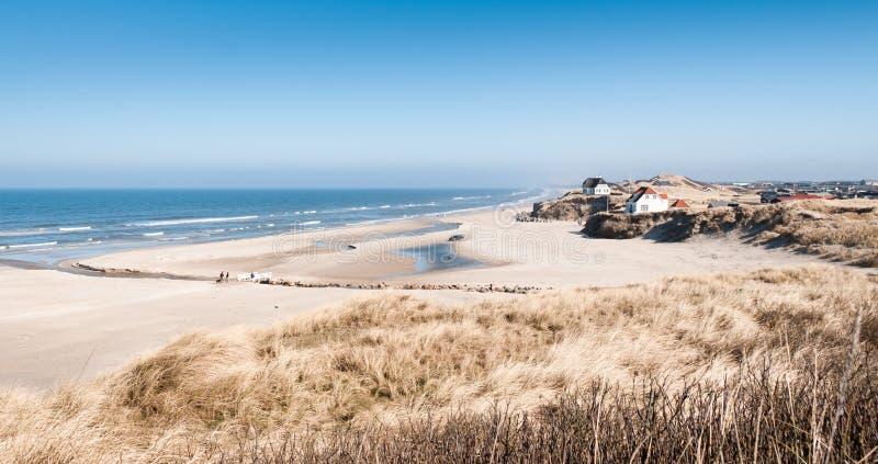 plaża loekken fotografia stock
