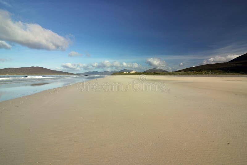 Plaża Luskentyre, wyspa Harris, Szkocja zdjęcia royalty free