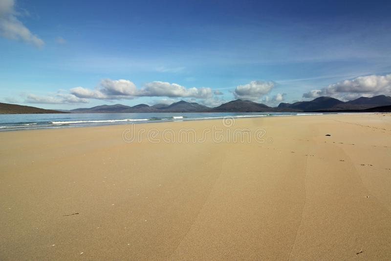 Plaża Luskentyre, wyspa Harris, Szkocja fotografia royalty free