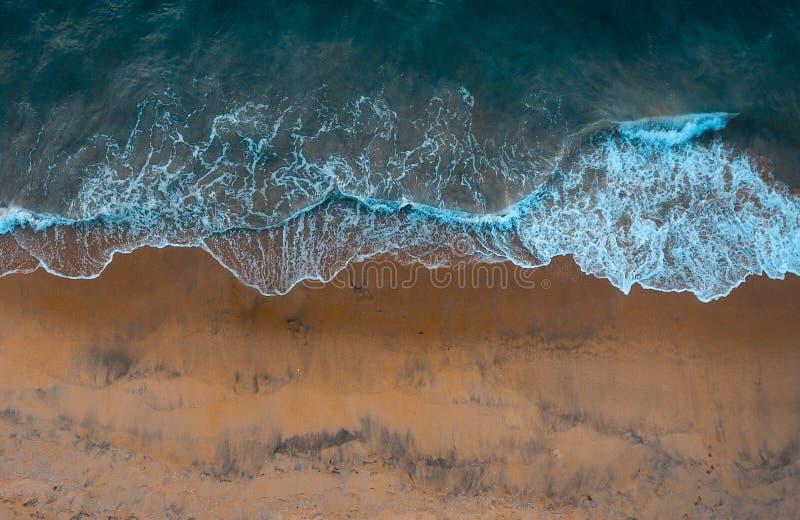 Plaża macha trutnia strzał obrazy stock