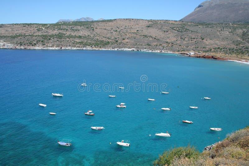 plaża Mani Greece wspaniale zdjęcie royalty free