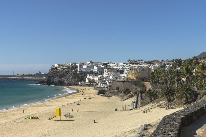 Plaża na Fuerteventurze obraz stock