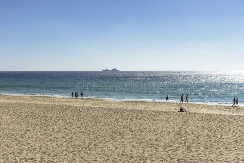 Plaża na Fuerteventurze obrazy royalty free